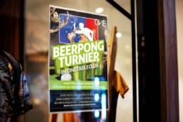 OneTableClub Beerpong Plakat