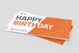 Service4Pharm Geburtstagskarte