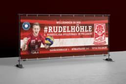 SV Fellbach Volleyball Spieltagsbanner